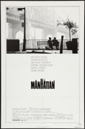 "Movie Posters:Comedy, Manhattan (United Artists, 1979). One Sheet (27"" X 41""). Style B. Comedy.. ..."