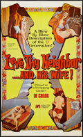 """Movie Posters:Adult, Love Thy Neighbor and His Wife (EVI, 1972). One Sheet (25.5"""" X 42""""). Adult.. ..."""