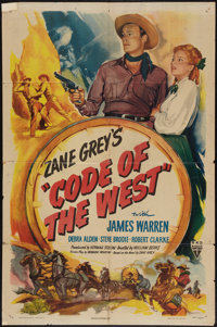 """Code of the West and Other Lot (RKO, 1947). One Sheets (2) (27"""" X 41""""). Western. ... (Total: 2 Items)"""