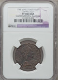 Colonials: , 1788 COPPER Connecticut Copper, Mailed Bust Right -- EnvironmentalDamage -- NGC Details. VF Details. NGC Census: (3/11). P...