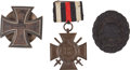 Military & Patriotic:WWI, Trio of Imperial German Awards Including a Presentation Iron CrossFirst Class.... (Total: 3 Items)