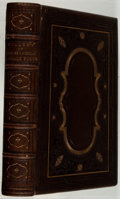 Books:Fiction, [Engraved Plates]. Henry Coppee [introduction]. A Gallery ofDistinguished English and American Female Poets. Butler...