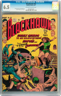 Golden Age (1938-1955):War, Blackhawk #43 (Quality, 1951) CGC FN+ 6.5 Off-white to whitepages....
