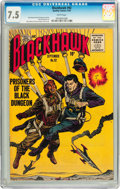 Golden Age (1938-1955):War, Blackhawk #92 (Quality, 1955) CGC VF- 7.5 White pages....