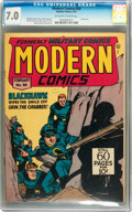 Golden Age (1938-1955):War, Modern Comics #58 (Quality, 1947) CGC FN/VF 7.0 Off-white to whitepages....