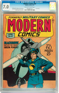 Golden Age (1938-1955):War, Modern Comics #60 (Quality, 1947) CGC FN/VF 7.0 Off-white to whitepages....