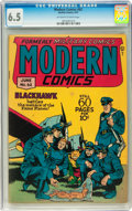 Golden Age (1938-1955):War, Modern Comics #62 (Quality, 1947) CGC FN+ 6.5 Off-white to whitepages....