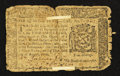 Colonial Notes:New York, New York August 13, 1776 $1/4 Very Good.. ...