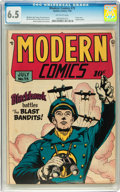 Golden Age (1938-1955):War, Modern Comics #75 (Quality, 1948) CGC FN+ 6.5 Off-white pages....