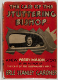 Books:Mystery & Detective Fiction, Erle Stanley Gardner. The Case of the Stuttering Bishop.Morrow, 1936. Very good....