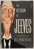 Books:Fiction, P. G. Wodehouse. The Return of Jeeves. Simon and Schuster,1954. Fair....