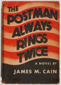 Books:Mystery & Detective Fiction, James M. Cain. The Postman Always Rings Twice. Grosset &Dunlap, 1945. Later edition. Very good....