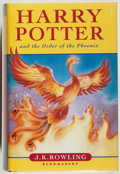 Books:Children's Books, J. K. Rowling. Harry Potter and the Order of the Phoenix.Bloomsbury, 2003. Fine....