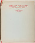 Books:Furniture & Accessories, F. Severne MacKenna. LIMITED. Chelsea Porcelain: The Red AnchorWares. F. Lewis, 1951. Quarto. Limited to 500 numb...