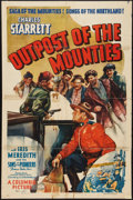 """Movie Posters:Western, Outpost of the Mounties (Columbia, 1939). One Sheet (27"""" X 40.5""""). Western.. ..."""