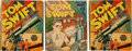Big Little Book:Miscellaneous, Big Little Book Tom Swift Group (Whitman, 1939-41) Condition:Average VF.... (Total: 3 Items)