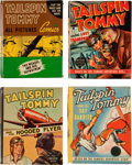 Big Little Book:Miscellaneous, Big Little Book Tailspin Tommy Group (Whitman, 1937-41) Condition:Average VF.... (Total: 4 Items)