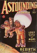 Pulp, Pulp-like, Digests, and Paperback Art, Astounding Stories pulp group. 2/34-11/34, 10 total. Averagecondition: VG/Fine. From the Jerry Weist Collection....(Total: 10 Items)