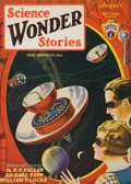 Pulp, Pulp-like, Digests, and Paperback Art, Science Wonder Stories pulp group. 6/29-12/29, and 1/30-5/30, 12total. Average condition: VG/Fine. From the Jerry Weist...(Total: 12 Items)