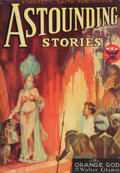 Pulp, Pulp-like, Digests, and Paperback Art, Astounding Stories pulp group. 10/33-12/33, 3 total. Averagecondition: VG/Fine. From the Jerry Weist Collection.. ...(Total: 3 Items)
