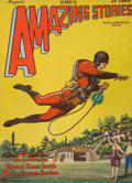 Pulp, Pulp-like, Digests, and Paperback Art, First appearance of Buck Rogers, Amazing Stories pulp. 8/28, 1total. Average condition: VG/Fine. From the Jerry Weist C...