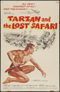 "Movie Posters:Adventure, Tarzan and the Lost Safari & Other Lot (MGM, 1957). One Sheets(2) (27"" X 41""). Adventure.. ... (Total: 2 Items)"
