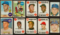 Baseball Cards:Sets, 1960's Card Collection (60) With '68 Game Set and Three Seaver cards. ...