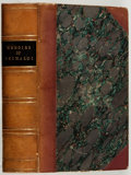 Books:Literature Pre-1900, Charles Dickens [Boz]. Memoirs of Joseph Grimaldi. Richard Bentley, 1838. Custom half leather. Very good....