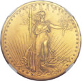 Proof Saint-Gaudens Double Eagles, 1908 $20 Motto PR66+ NGC....