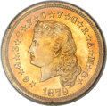 Proof Four Dollar Gold Pieces, 1879 $4 Flowing Hair, Judd-1635, Pollock-1833, R.3, PR64 PCGS....