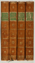 Books:Literature Pre-1900, Sir Walter Scott. Tales of My Landlord. SecondSeries. Volumes I-IV. Constable, 1818. Contemporary h...(Total: 4 Items)
