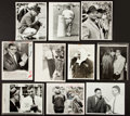 Football Collectibles:Uniforms, 1960's Vince Lombardi Original Photographs Lot of 10 - JFK, Emlen Tunnell etc....
