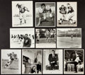 Football Collectibles:Photos, 1960's Vince Lombardi and other Green Bay Packers Original Photographs Lot of 10....