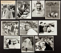 Football Collectibles:Photos, 1960's Vince Lombardi Original Photographs Lot of 10....