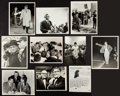 Football Collectibles:Photos, 1960's Vince Lombardi Original Photographs Lot of 10 - With Halasand Packers Head Coach Resignation Speech....
