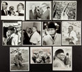 Football Collectibles:Photos, 1960's Vince Lombardi Original Photographs Lot of 10 - Championship Theme....