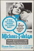 """Movie Posters:Sexploitation, Michael and Helga and Others Lot (American International, 1969).One Sheets (3) (27"""" X 41""""). Sexploitation.. ... (Total: 3 Items)"""