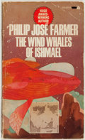 Books:Science Fiction & Fantasy, Philip Jose Farmer. INSCRIBED. The Wind Whales of Ishmael. Ace, 1971. Signed and inscribed by the author. Mass m...