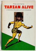 Books:Science Fiction & Fantasy, Philip Jose Farmer. INSCRIBED. Tarzan Alive. Doubleday, 1972. Signed and inscribed by the author. Good....