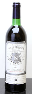Red Bordeaux, Chateau La Conseillante 1982 . Pomerol. ts, lscl. Bottle(1). ... (Total: 1 Btl. )