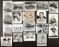 Football Collectibles:Photos, 1950's and 1960's Green Bay Packers Original Photographs Lot of19....