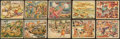 "Non-Sport Cards:Lots, 1938 Gum Inc. ""Horrors of War"" Collection (54 Different). ..."