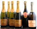 Champagne, Billecart Salmon Champagne . NV Brut Rose Bottle (1). Gosset Champagne . NV Grand Rose Brut Bottle (1). ... (Total: 7 Btls. )