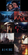 "Movie Posters:Science Fiction, Aliens (20th Century Fox, 1986). Lobby Card Set of 9 (11"" X 14"").Science Fiction.. ... (Total: 9 Items)"