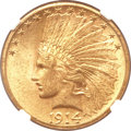 Indian Eagles, 1914-S $10 MS61 NGC....