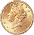 Liberty Double Eagles, 1903-S $20 MS64+ PCGS. CAC....