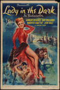 """Movie Posters:Comedy, Lady in the Dark (Paramount, 1944). One Sheet (27"""" X 41""""). Comedy.. ..."""