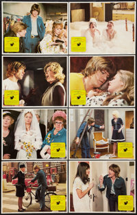 "Confessions of a Window Cleaner & Other Lot (Columbia, 1974). Lobby Card Sets of 8 (2) (11"" X 14""). Co..."