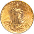 Saint-Gaudens Double Eagles, 1924-D $20 MS62 PCGS....