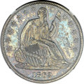Patterns, 1863 50C Half Dollar, Judd-340, Pollock-412, Low R.6, PR64 NGC....